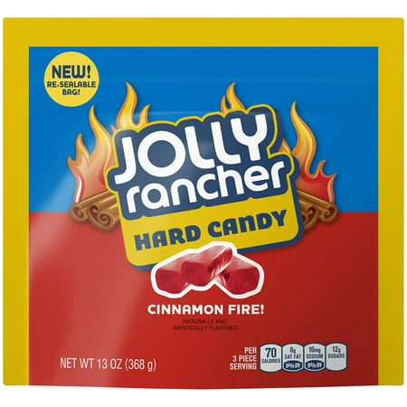 (4 Pack) Jolly Rancher, Cinnamon Fire! Hard Candy, 13 Oz