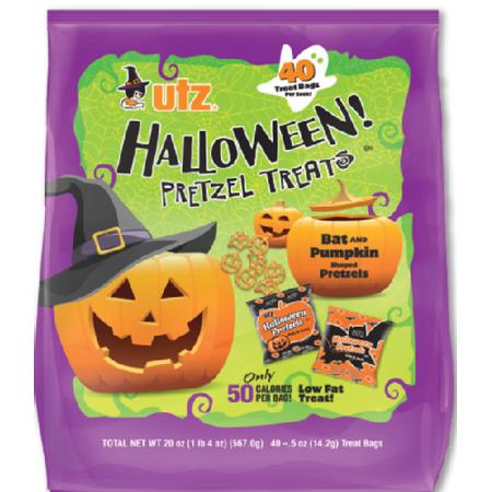 Dag Halloween.Utz Halloween Pretzel Treats 20 Oz 40 Count