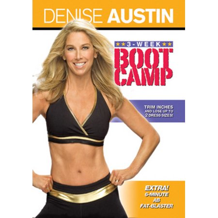 Denise Austin: 3 Week Bootcamp (DVD)