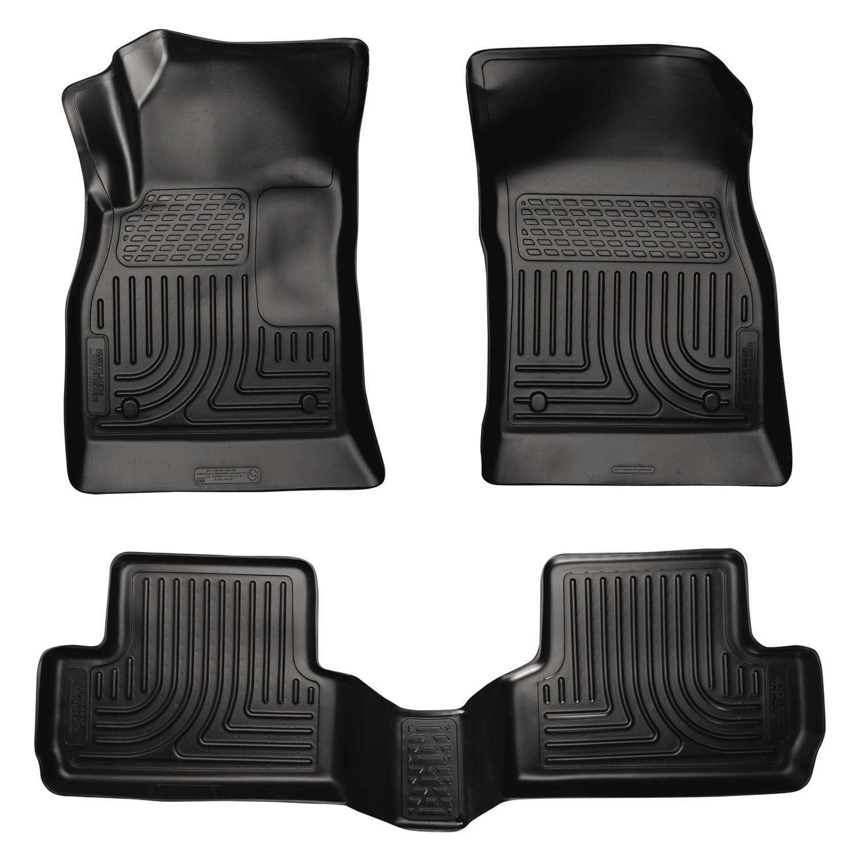 Husky Liners Front & 2nd Seat Floor Liners Fits 12-17 Verano