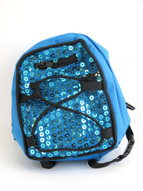 "Teal Sequin Backpack 18 Inch Doll Clothes Fits 18"" American Girl Dolls, Madame... by"