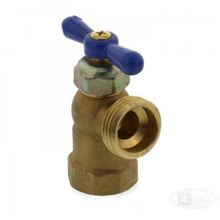 Dial Manufacturing 4515318 0.75 in. FPT Cooler Brass Sill Cock - image 1 de 1