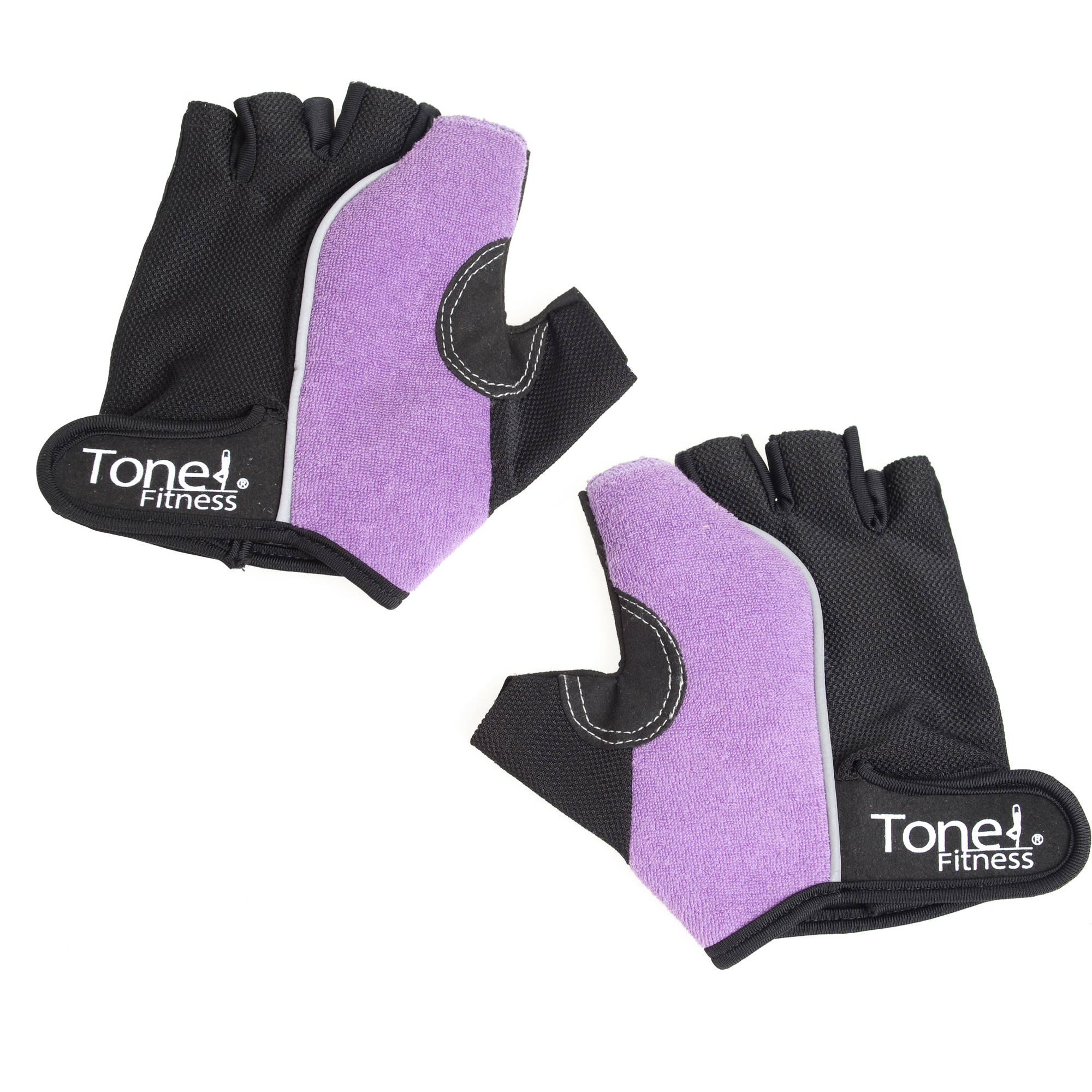 Tone Fitness Weight Gloves, Purple