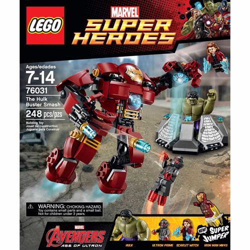 LEGO Super Heroes The Hulk Buster Smash - Walmart.com