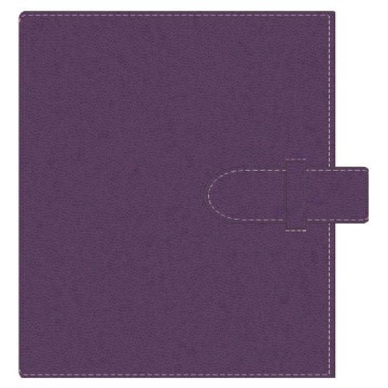 Pierre Belvedere Executive A5 Notebook, Refillable, Plum ...