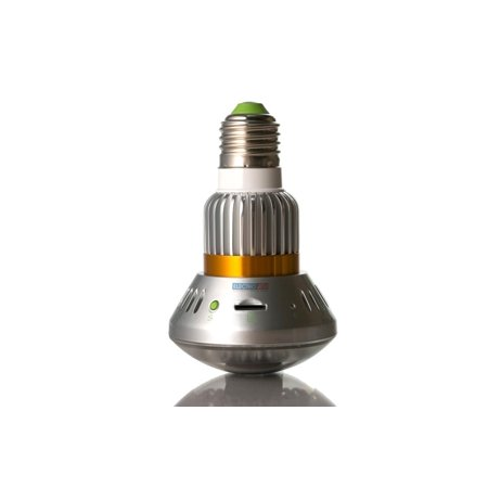 Infrared Digital Audio Video Recorder Bulb Motion Detect Security Cam - image 8 of 9