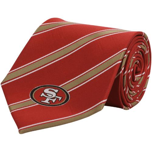 San Francisco 49ers Woven Poly Tie - No Size