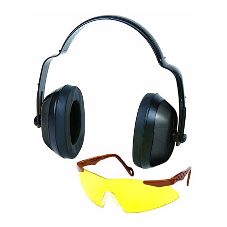 Image of Allen Standard Muff & Shooting Glasses Yellow Safety Combo 2283