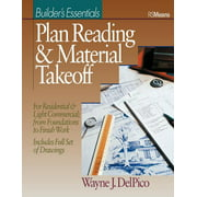 Rsmeans: Plan Reading and Material Takeoff: Builder's Essentials (Paperback)