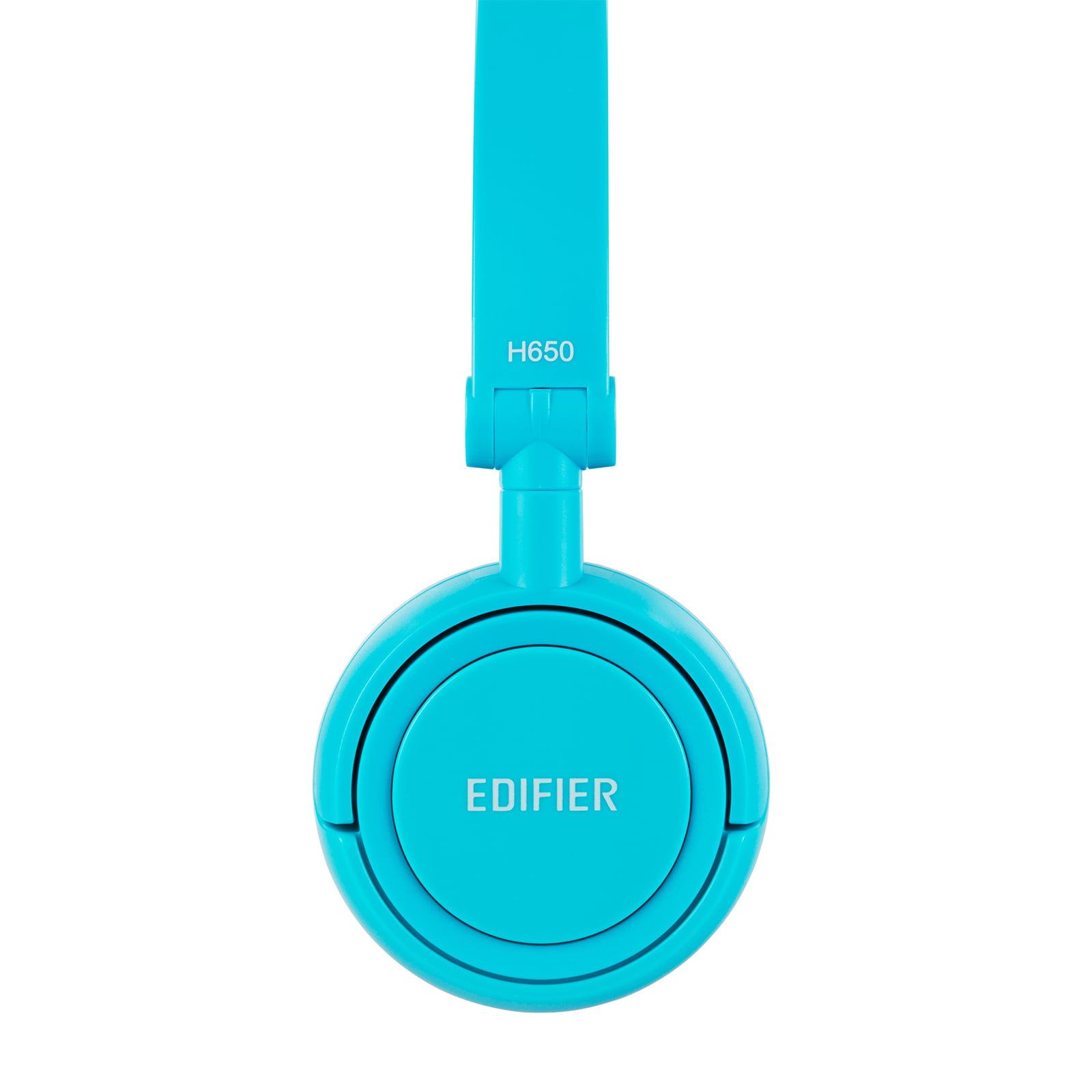 Edifier H650 Headphones - Hi-Fi On-Ear Foldable Noise-Isolating Stereo Headphone, Ultralight and Tri-fold Portable - Blue - image 2 of 7