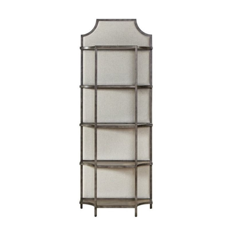 Beaumont Lane Fresh Air Etagere Shelf in Metal by Beaumont Lane