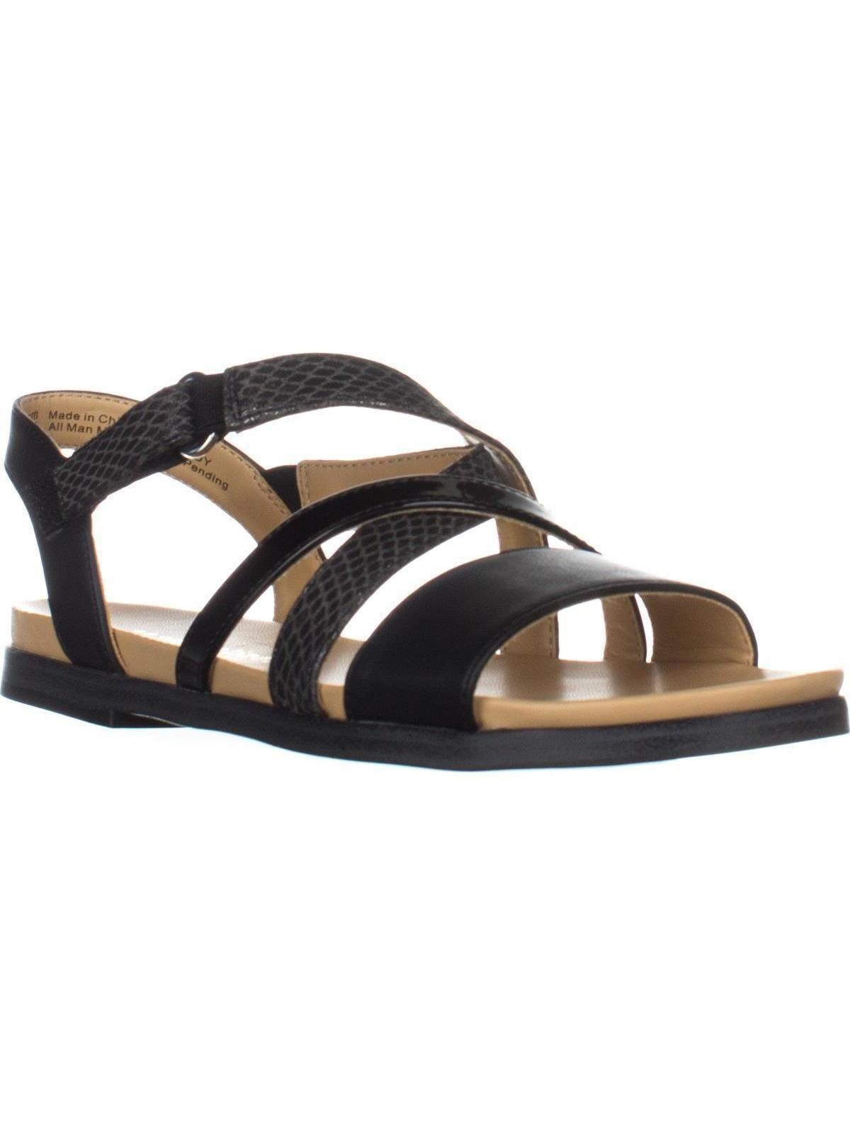 Womens Naturalizer Kandy Flat Strappy Sandals, Beige by Naturalizer