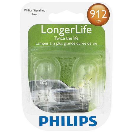 Philips LongerLife Miniature 912LL, Pack of 2