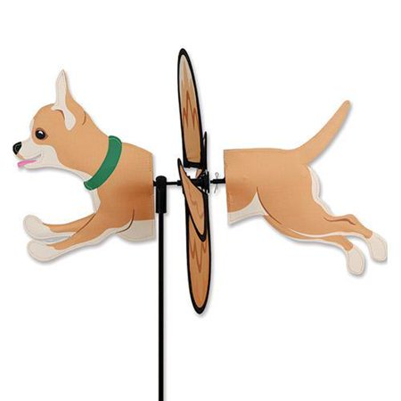Premier designs chihuahua outdoor garden wind spinner for Garden spinners premier designs