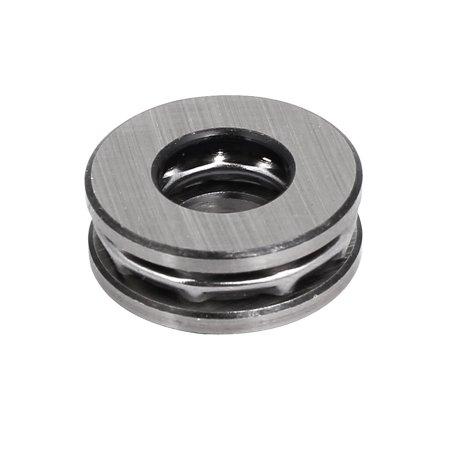 24mmx10mmx9mm Roulement à une rangée billes avec butée gris argent 51100 6pcs - image 3 de 4