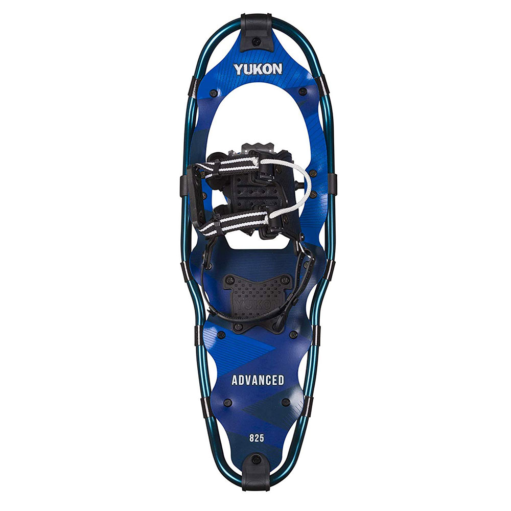 "Yukon Charlie's Advanced 8"" x 25"" Durable Backcountry Hiking Snowshoes, Blue by Yukon Charlie's"