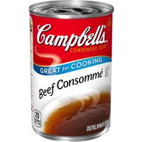 (4 pack) Campbell's Condensed Beef Consomme, 10.5 oz.