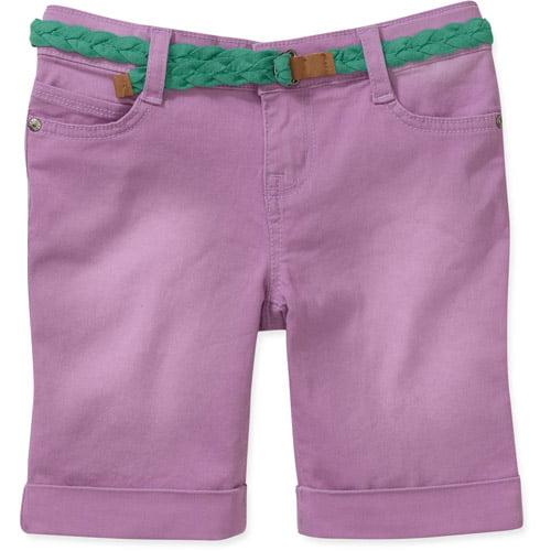 L.e.i. Girls Belted Bermuda Shorts