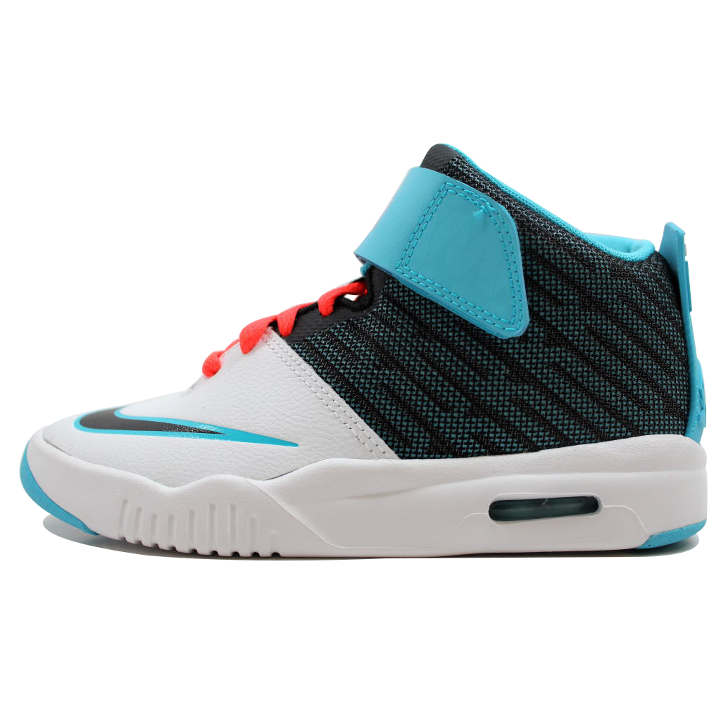 Nike Grade School Air Akronite White/Bright Blue-Bright Crimson 819832-102