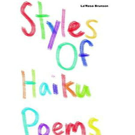 Halloween Haiku Poems (Styles of Haiku Poems - eBook)