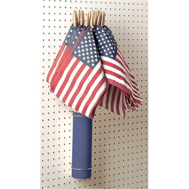 Valley Forge Flag 4in. x 6in. American Hand Held Flags Display Pack  USE4D - Pack of 48