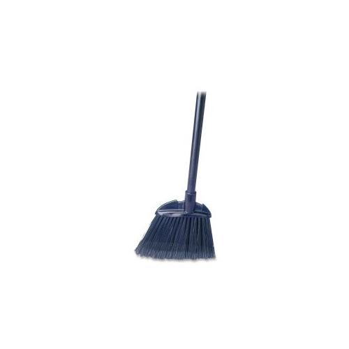 RUBBERMAID COMMERCIAL PROD. Lobby Broom, Polypropylene, 7-1/2 W, 28 Handle, Black