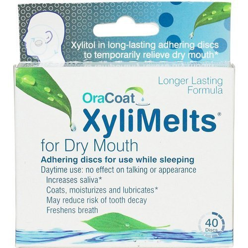 Oracoat - XyliMelts - Dry Mouth - Regular - 40 Count - Mild Mint