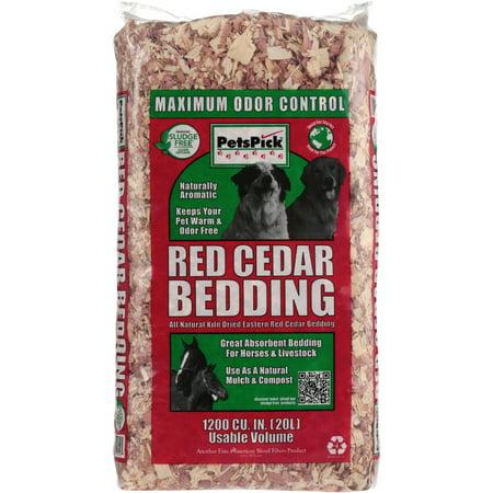 decf4f405b96 Pets Pick Red Cedar Bedding, 20 L (3 pack)