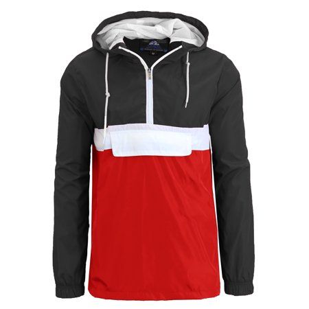 Mens Hooded Lightweight Windbreaker Jackets](Mens Pirate Jacket)