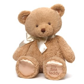 Recordable Teddy Bear Walmart, Record Your Own Plush 16 Inch Brown Patches Teddy Bear Ready To Love In A Few Easy Steps Walmart Com Walmart Com