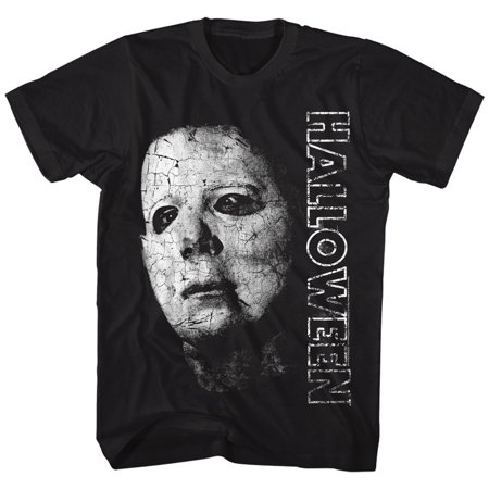 Halloween Scary Horror Slasher Movie Film Michael Meyers Face Adult T-Shirt - Halloween Horror Filme