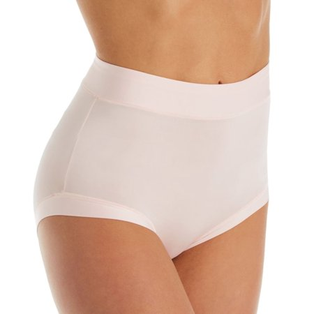 Women's Warner's RS9301P Easy Does It Ultra Stretch Microfiber Brief Panty Muffin Top Waist