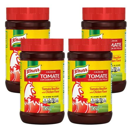 (4 Pack) Knorr Granulated Bouillon Tomato Chicken 15.9 oz