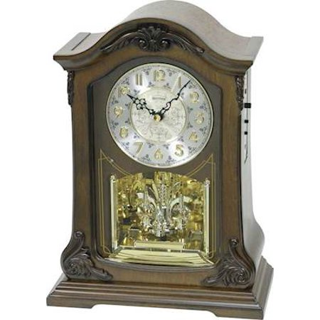 Rhythm USA American Pride Mantel Clock Column Mantle Clock