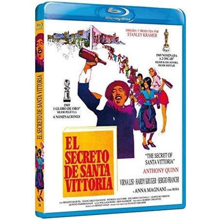The Secret of Santa Vittoria (1969) [ Blu-Ray, Reg.A/B/C Import - Spain ] (Santa Secret)