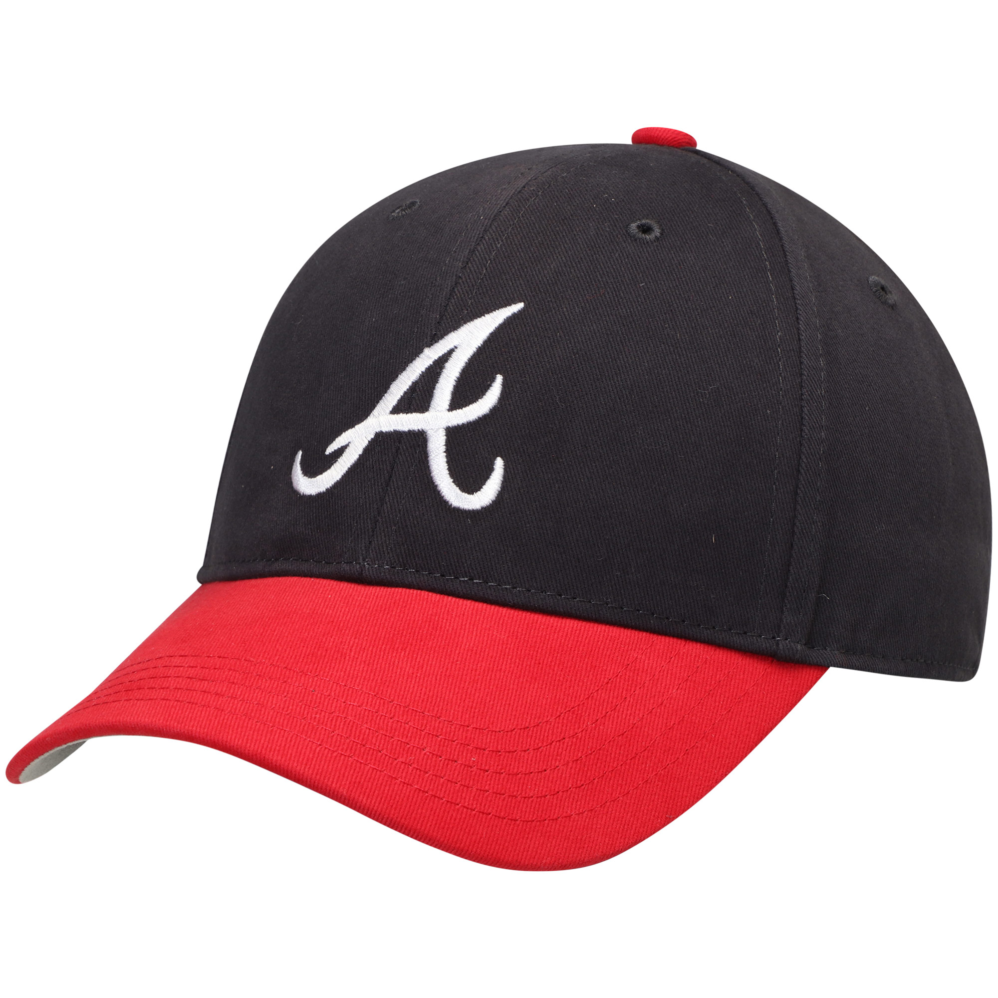 Atlanta Braves Fan Favorite Youth Basic Adjustable Hat - Navy - OSFA