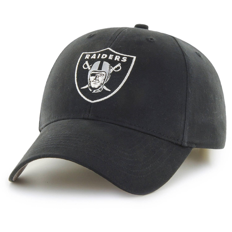 NFL Oakland Raiders Basic Cap Hat by Fan Favorite by Overstock