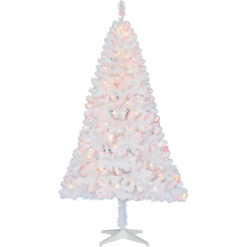 Holiday Time 6.5ft Whi Madison Artificial Tree - Mlt