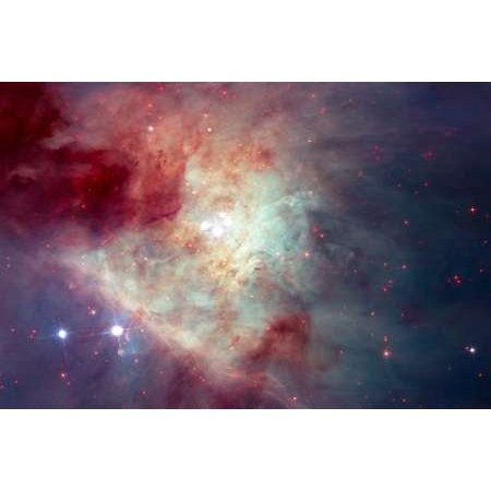 View of the Orion Nebula Poster Print by Hubble Space