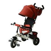 Best Baby Bike Strollers - Qaba 2-in-1 Lightweight Steel Adjustable Convertible Tricycle Stroller Review