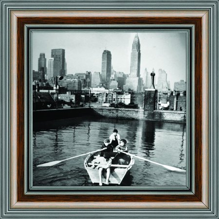Vintage Madison Boy's Rowing Club, Historical Picture Frame, 10x10 8531