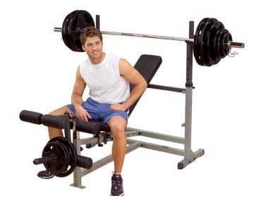 Powercenter Combo Bench, excersize equipment,just benches,home bench