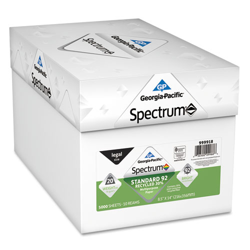Spectrum Recycled Multi-Use Paper GPC999918