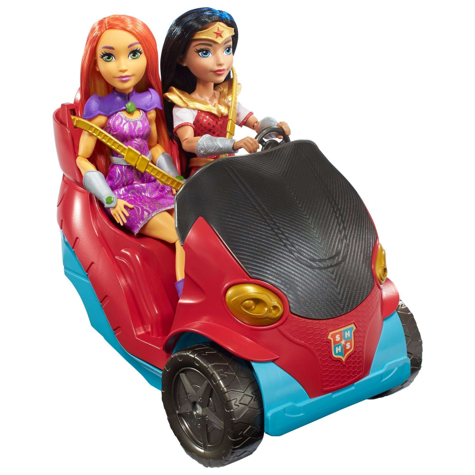 DC Super Hero Girls Bus Vehicle - Walmart.com on