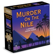 Murder on the Nile Classic Mystery Jigsaw Puzzle