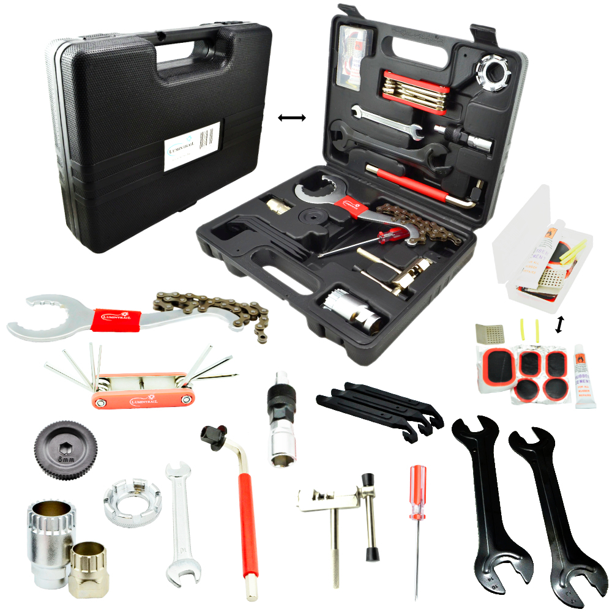 Portable Multi function Bike Bicycle Cycling Repair Tool Kit Set Wrench Tools
