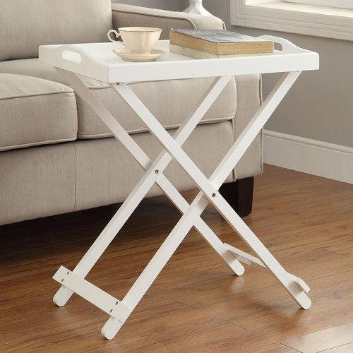 Charlton Home Schererville Folding Tray Table