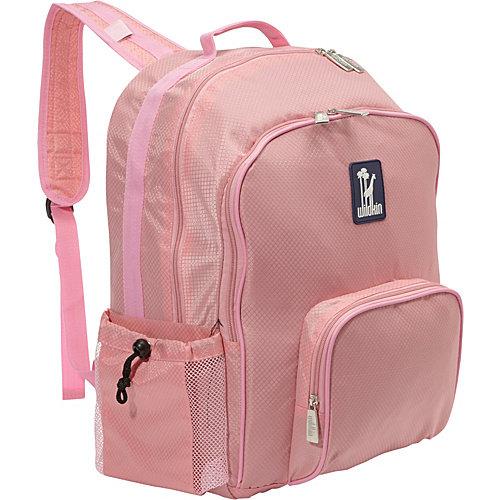 Wildkin Rip-Stop Pink Macropak Backpack