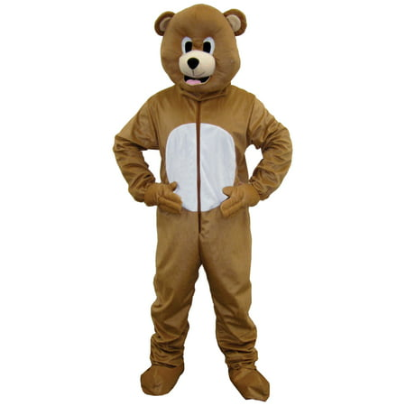 Brown Bear Mascot Costume](Eagle Mascot)