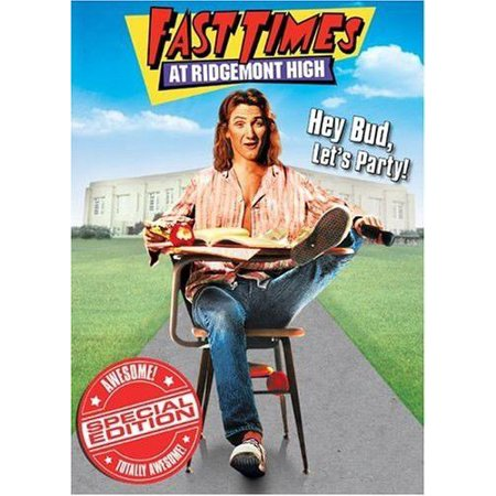 Fast Times At Ridgemont High On VHS.